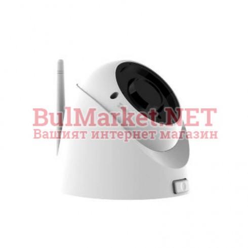 "Водоустoйчива, вандалоустойчива, куполна, мрежова IP камера, 1/2.9"" SONY CMOS, 2.0 MP, 1920x1080@25fps, 2.8-12mm, ИЧ-30m, SD Card слот до 128GB"