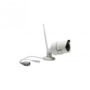Комплект 2бр. вътрешни + 2бр. външни безжични камери 1.3MP+NVR 4 канала
