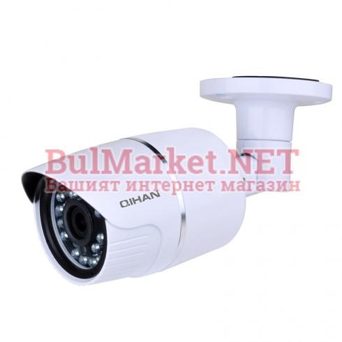 "Мрежова IP Камера, водоустойчива, 4.0 MP, 2688x1520@20fps, 1/3"" CMOS, 3.6mm, IR-20m - QH-NW557DO"
