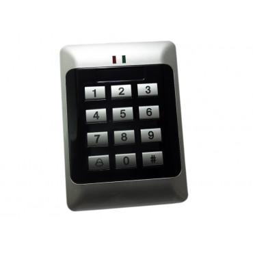 Самостоятелен терминал с четец и клавиатура за контрол на достъп за една врата 01