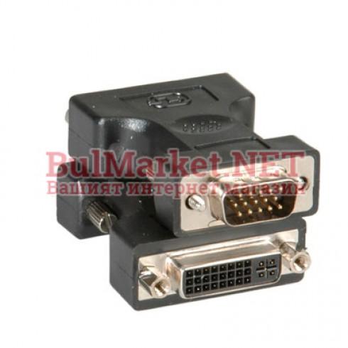 Адаптер VGA M - DVI F