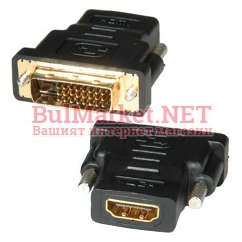 Адаптер DVI M - HDMI F