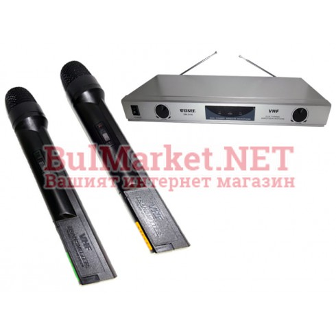 Професионални безжични микрофони DM-2186 реплика на SHURE